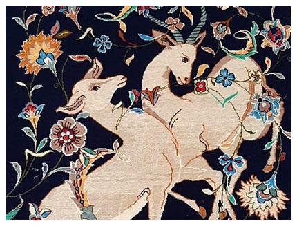Isfahan Orientteppich; Orientteppich Parient, Neu-Ulm, Augsburg, München