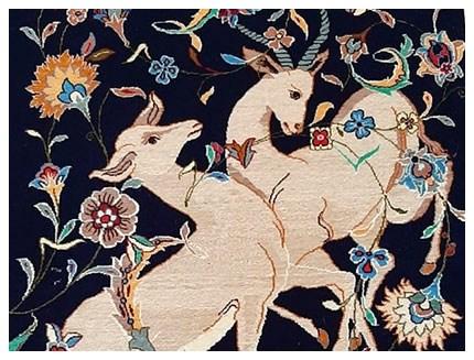 Isfahan Orientteppich - Teppich Ankauf in Stuttgart, Orientteppich Parient